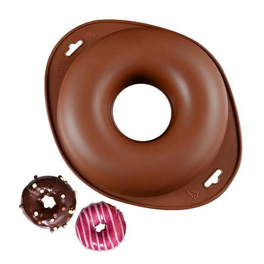 Macabolo Donut Formas creativas, hechas a mano, de silicona, forma ...