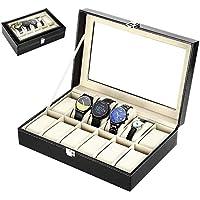 Zogin Caja de Almacenamiento de Reloj/Soporte de Exhibición
