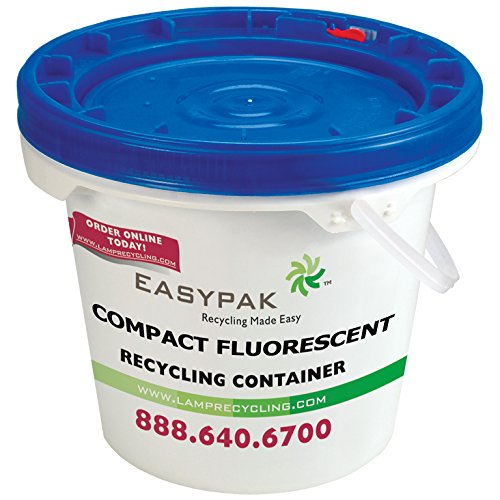 EasyPak Mini CFL Recycling Container by EasyPak