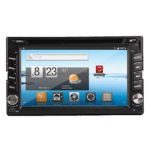 Ouku 2 Din Android in Dash Car PC DVD Player GPS Navigation Head DEK Stero Radio