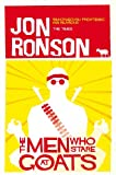 Front cover for the book The Men Who Stare at Goats by Jon Ronson