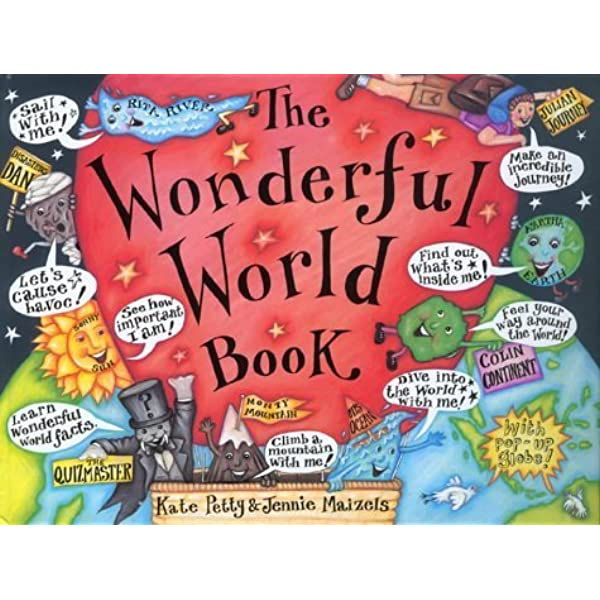 Ebook The Wonderful World Book By Kate Petty
