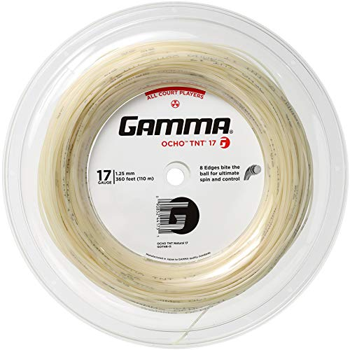 Gamma Sports OCHO TNT 17g Reel Tennis String ()