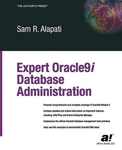 Expert Oracle9i Database Administration ebook