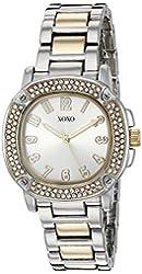 XOXO Women's Quartz Metal and Alloy Automatic Watch, Color:Two Tone (Model: XO5912)
