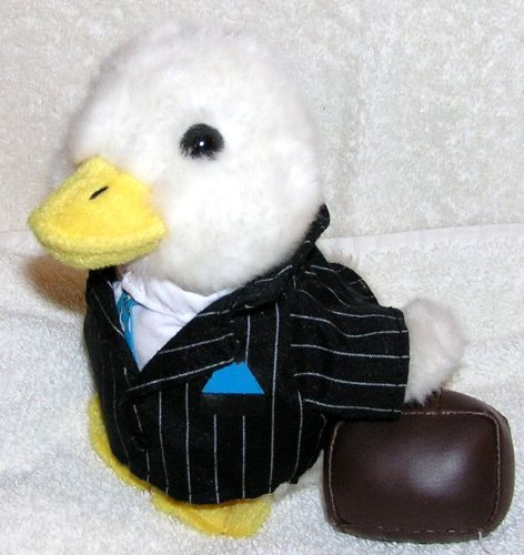 plush-6-talking-aflac-duck-in-business-suit-with-briefcase
