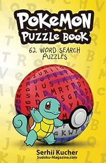 Pokemon Puzzle Book   62 Word Search Puzzles: Volume 1