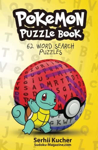 Pokemon Word Search Book