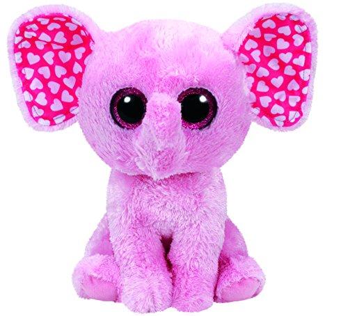 Ty Sugar Elephant Plush, Pink, Medium