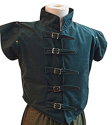 Medieval-LARP-Re enactment-Game of Thrones Men's JERKIN-GILET VEST TOP - All Adult Men Sizes (Comic Con Game Of Thrones Costumes)