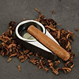 CIGARISM Small Size Aluminum Alloy Metal Cigar