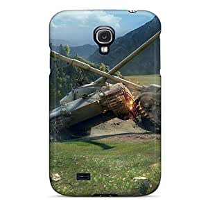 XiFu*MeiAwesome World Of Tanks Battle Flip Case With Fashion Design For Galaxy S4XiFu*Mei