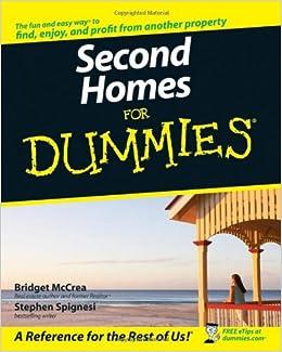 Second Homes For Dummies: Bridget McCrea, Stephen J