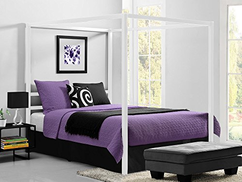 Review DHP Modern Canopy Bed