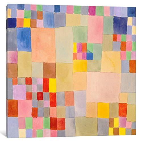 iCanvasART 1358-1PC3-37x37 iCanvas Flora on The Sand Print by Paul Klee 37