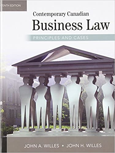 Contemporary Canadian Business Law Ebook