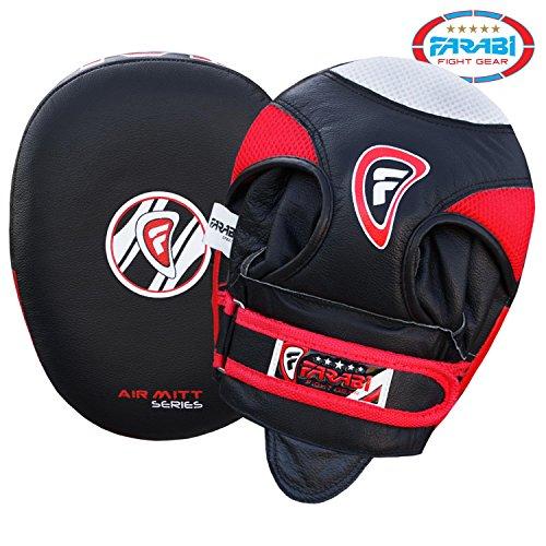 Air Thai Pads (Farabi Focus pads Air Hand Mitts Muay Thai Kick Boxing Punching pads)