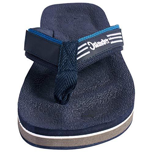 Flip Filippino Flop Navy Blue Sandal Islander Sandals Men's Z1Sxqn767