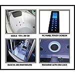 Bagno-Italia-cabina-idromassaggio-170X90-con-vasca-bagno-turco-cromoterapia-massaggio-plantare-radio-I