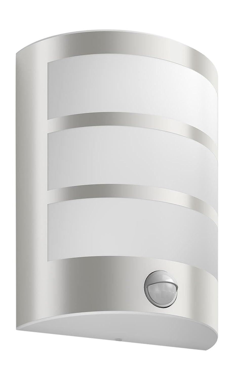 Philips myGarden LED Wandaussenleuchte Python, Bewegungsmelder Metall 6 W Edelstahl 173244716 [Energieklasse A] 915005197401