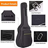 CAHAYA 41 Inch Acoustic Guitar Bag 0.35 Inch