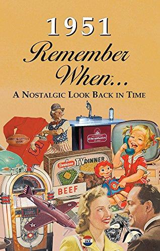 Seek Publishing 1951 Remember When KardLet (RW1951)