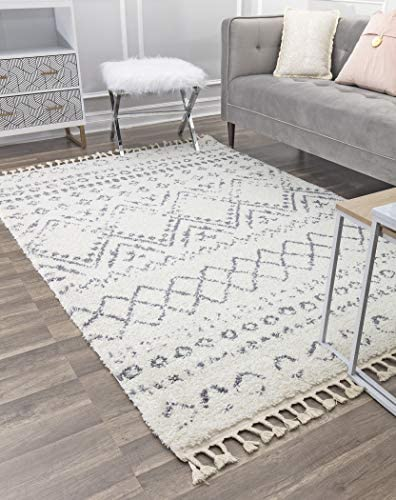 CosmoLiving Shag Area Rug