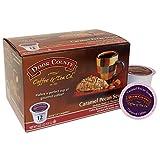 Door County Coffee Single Serve Cups for Keurig Brewers (Caramel Pecan Scone, 12 Count)