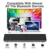 Portable Soundbar for TV/PC, Soundbar with Built-in