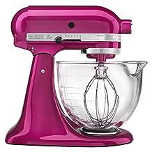 KitchenAid Artisan Design 5-Quart Stand Mixer, Raspberry Ice