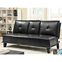 Coaster Sofa Bed-Black