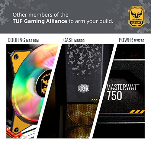 Cooler Master MasterAir MA620P TUF Edition Dual-Tower RGB CPU Air Cooler 6 Heat pipes Dual Master Fan MF120R 120mm RGB Fans (MAP-D6PN-AFNPC-R1) by Cooler Master (Image #5)