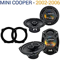 Mini Cooper 2002-2006 Factory Speaker Replacement Harmony R65 R69 Package