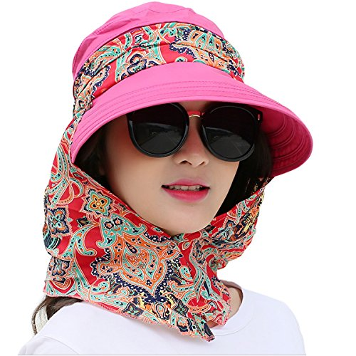 Large Rose Sun Hat - 3