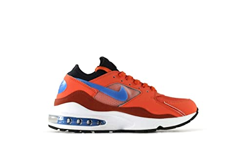 buy popular 643b0 c33aa Nike Air MAX 93, Zapatillas de Deporte para Hombre, (Vintage CoralBlue  NebulaMarosc Stone 800), 44 EU Amazon.es Zapatos y complementos