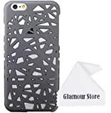 iPhone 6 Case,Bird Nest Rear Hard Skin Protector Case Cover For Apple iPhone 6 6G 4.7 inch+Free Cleaning Cloth As a Gift (Gray Smoke)