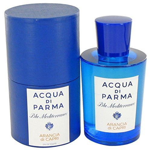 Blu Mediterraneo Arancia Di Capri by Acqua Di Parma Eau De Toilette Spray 5 oz for (Capri Orange Eau De Toilette)