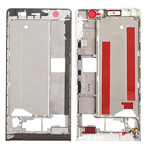iPartsBuy Front Housing Screen Frame Bezel Replacement for Huawei Ascend P6(Black) ()