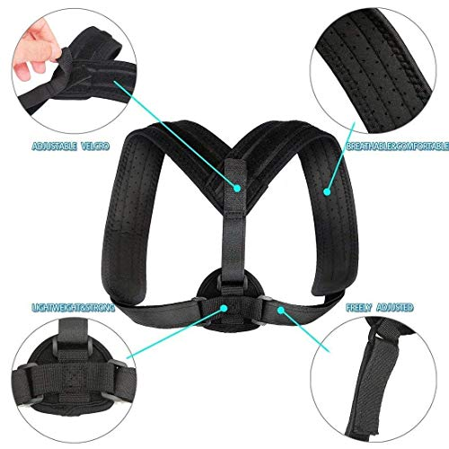 """PANADY Posture Corrector, Comfortable with Years Warranty, Sizes: 35-48"""" and 28-35"""""""