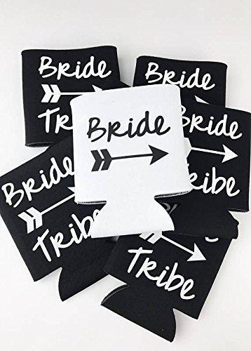 Bride Tribe Can Sleeve Custom Wedding Favor - Bachelorette Party - Sunglasses Custom Wedding Favors