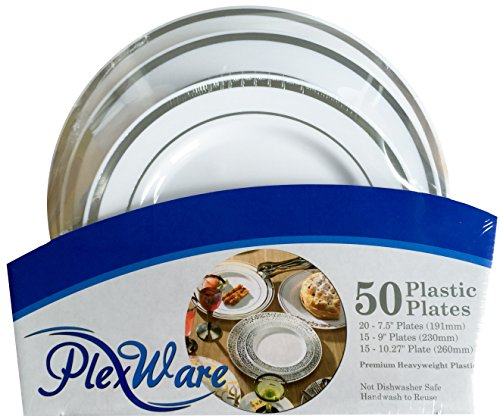 50 piece dish set - 1