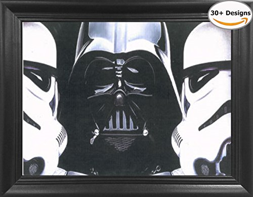 star wars poster framed - 4