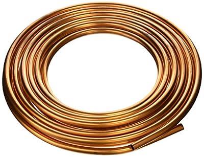 "Dorman 510-012 Copper Tubing, 3/8"" x 25' x .032"""