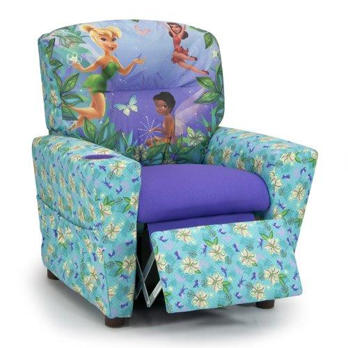 Kidz World Disneys Fairies Kids Recliner 446605, Multi-Colored
