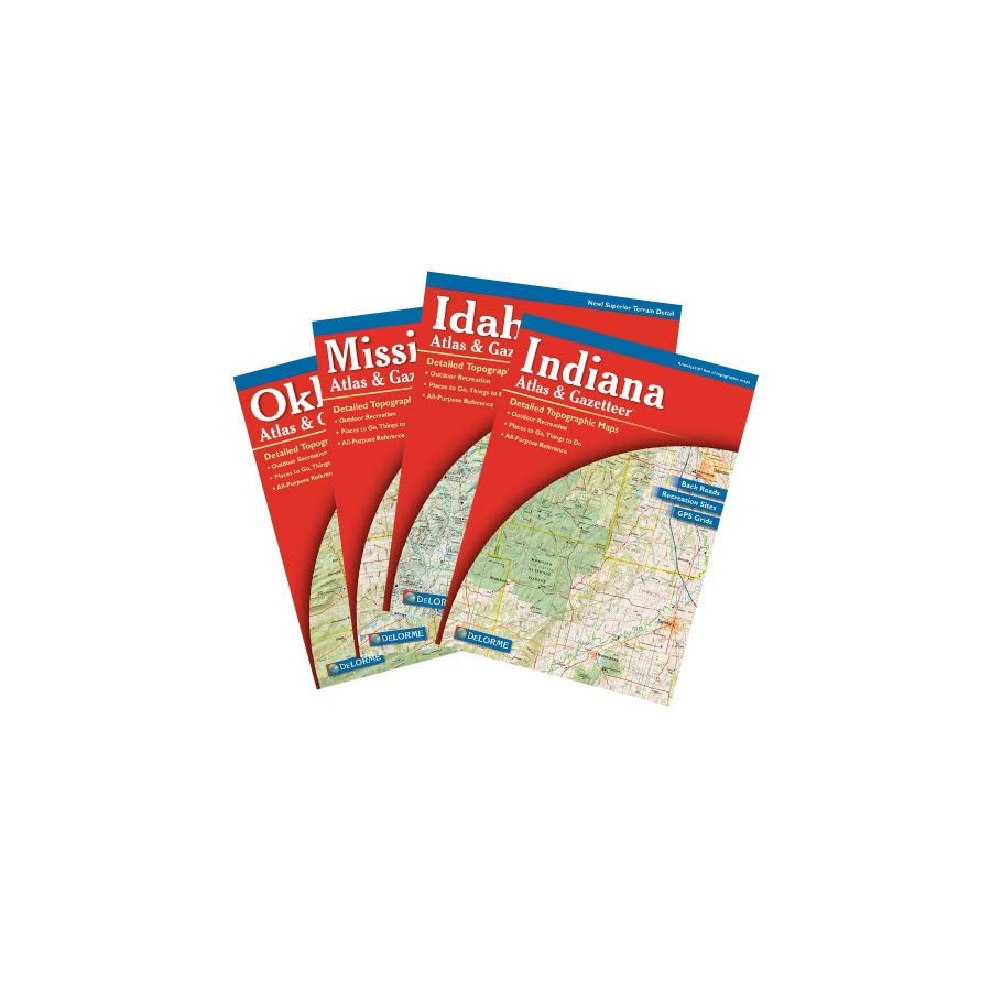 Arkansas Atlas and Gazetter
