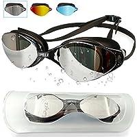 COPOZZ Competitive Swim Goggles, 3550 Shatterproof...