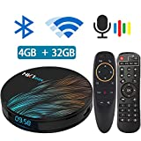 Best Android Streaming Boxes - Android TV Box 9.0 with Air Mouse RK3318 Review