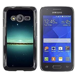 Be Good Phone Accessory // Dura Cáscara cubierta Protectora Caso Carcasa Funda de Protección para Samsung Galaxy Ace 4 G313 SM-G313F // Lake & Stars