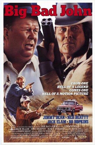 Big Bad John Poster Movie 27X40 Jimmy Dean Ned Beatty Jack Elam