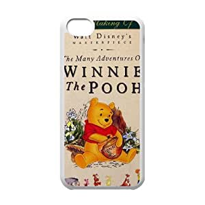 iPhone 5c Cell Phone Case White Many Adventures of Winnie the Pooh Dout